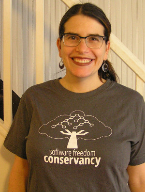 Photo of Conservancy t-Shirt that Supporters receive