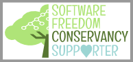 Become a Software Freedom Conservancy Supporter!